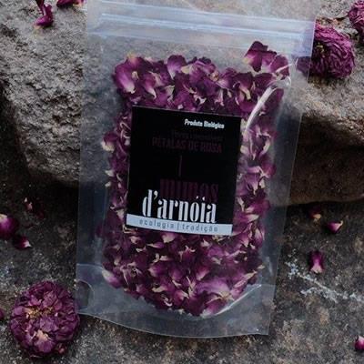 Pétalas de Rosa Comestíveis
