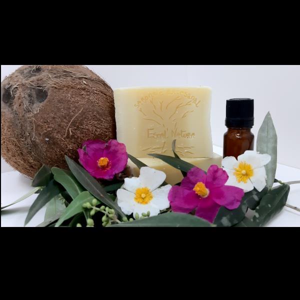 """"""" A azeitona da selva """" sabonete de azeite bio (100gr)"""