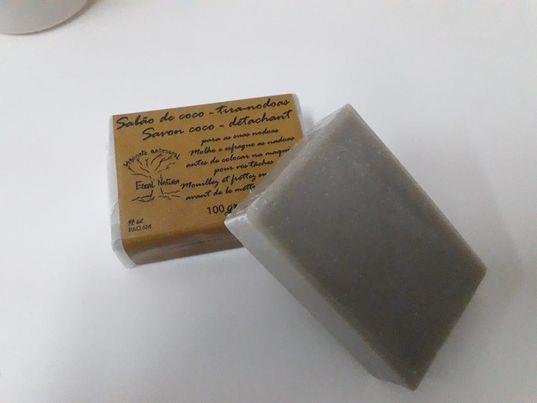 Tira-nódoas sabão Bio (100gr)