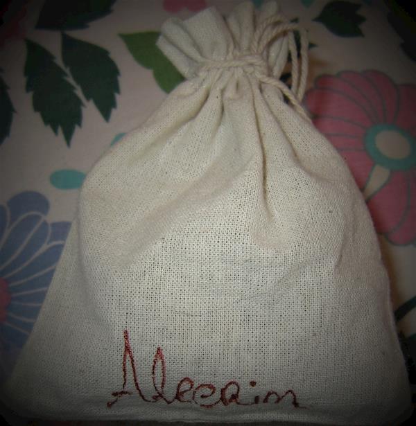 Saquinhos de linho com Alecrim artesanais,  saq. de 10 g e 20 g