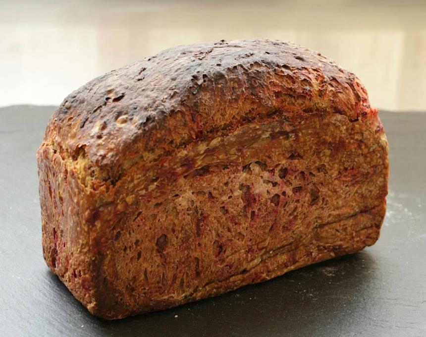Pão Artesanal de Beterraba 500g