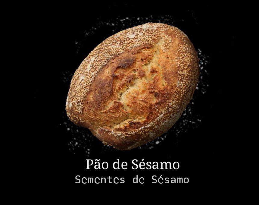 Pão Artesanal de Sésamo 500g
