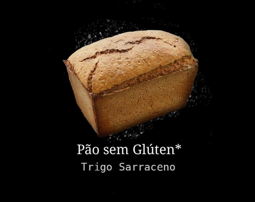 Pão Artesanal de Trigo Sarraceno s/ Glúten 500g