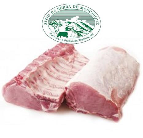 Lombo com Osso, Carne de Porco Preto