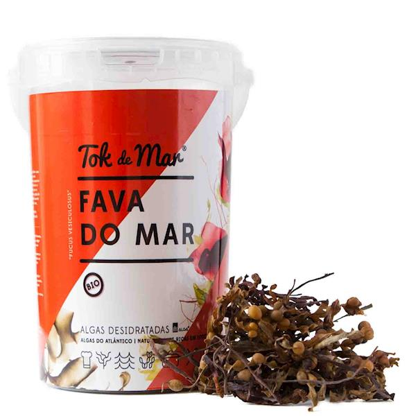 Fava-do-mar Desidratada, 100g. Tok de Mar® by ALGAplus