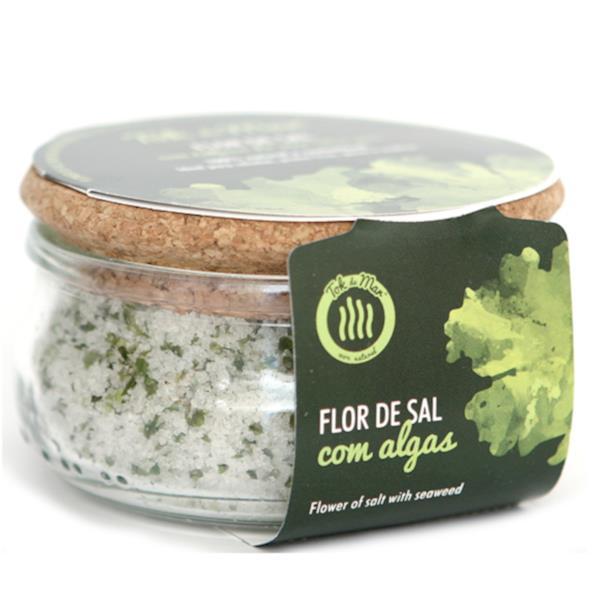 Flor de sal com Alface-do-mar, 150g. Tok de Mar® by ALGAplus