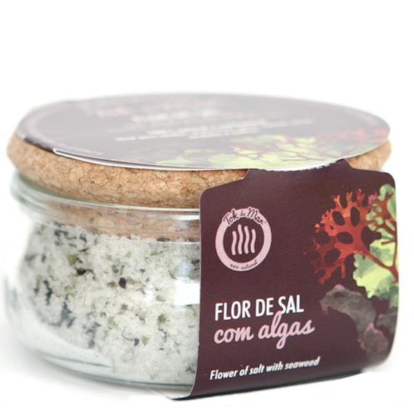 Flor de sal com Mix de Algas, 150g. Tok de Mar® by ALGAplus