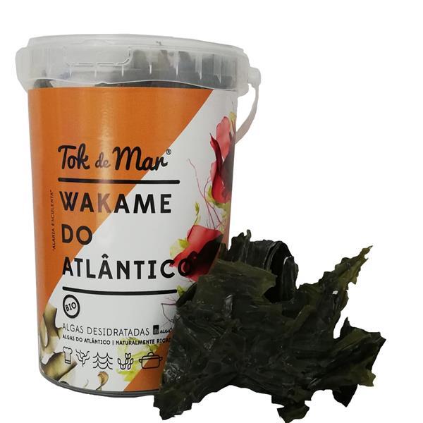 Wakame-do-atlântico Desidratada, 100g. Tok de Mar® by ALGAplus