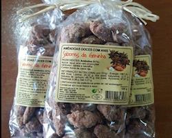 Amêndoas doces com anis, emb.125g