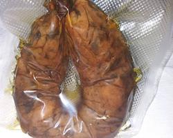 Alheira de cogumelos shitake vegan bio