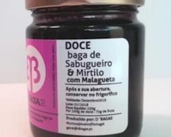 Doce de Baga de Sabugueiro & Mirtilo com Malagueta, 250g