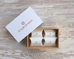 Caixa de Sabonetes Miniatura