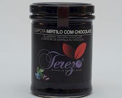 Compota de Mirtilo com Chocolate