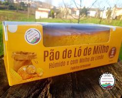 Pão de Ló de Milho - Sem Glúten