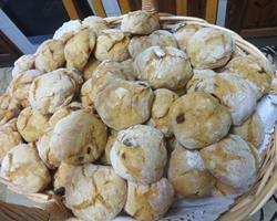 Broinhas de Batata-doce, Mel e Frutos Secos, Venda a Granel