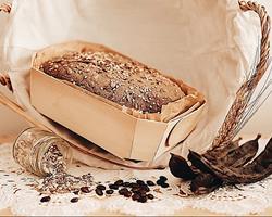 Pão de Centeio com Alfarroba e Sementes, emb. 500g