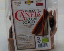 Crackers Bio de Canela com Açúcar de Côco, 165g (clonado)