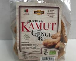 Bolachas Bio de Kamut com Gengibre, 180g