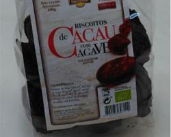 Bolachas Bio de Cacau com Agave, 200g
