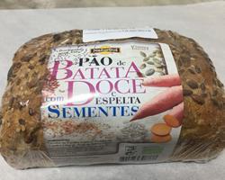 Pão de Espelta com Batata Doce Bio, 165g