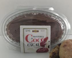 Manteiga BIO de Coco com Cacau, 125g