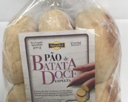 Pãezinhos de Espelta com Batata Doce Bio, emb. 400g