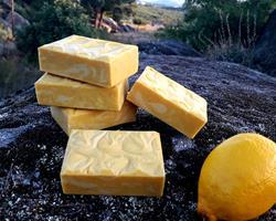 Sabão Rustico de Limão