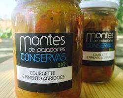 Conserva Courgete e Pimentos agridoce
