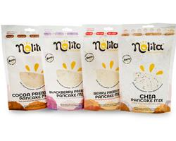 Pacote 4 Panquecas Mix   Integral   Bio   Sem gluten   Sem açúcar