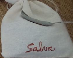 Saquinhos de linho com Salva artesanais, saq. de 10 g e 20 g