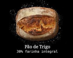 Pão Artesanal de Trigo 30% Integral 500g