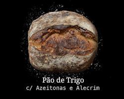 Pão de Trigo c/ Azeitonas e Alecrim 500g