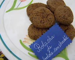 Bolachas de Bolota com Chocolate