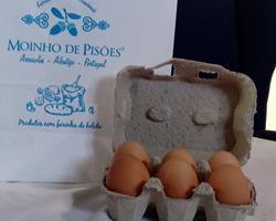 Ovos de galinhas do campo