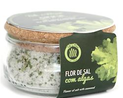 Flor de sal com Alface-do-mar, 150g. Tok de Mar® by ALGAplus