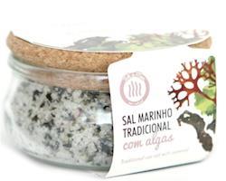 Sal Marinho Tradicional com Mistura de Algas, 150g. Tok de Mar® by ALGAplus