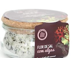Flor de sal com Mix de Algas, 150g. Tok de Mar® by ALGAplus